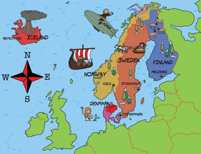Los Escandinavos Tienen Un Buen Inglés Por Qué