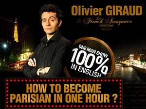 COME & DISCOVER the smash hit show 100 % IN ENGLISH in Paris!