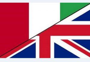 Translation from English to Italian