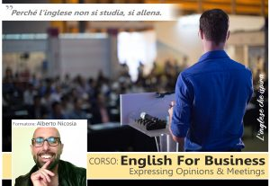 English for Business: Expressing Opinions & Meetings