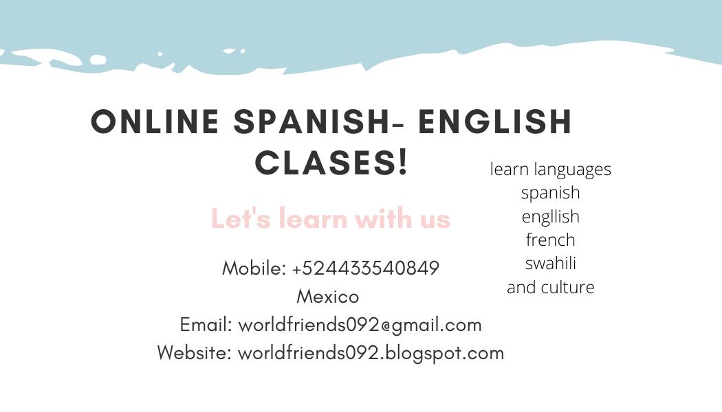 we teach languages online