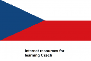 Internet resources for  learning Czech
