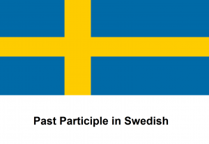 Past Participle in Swedish
