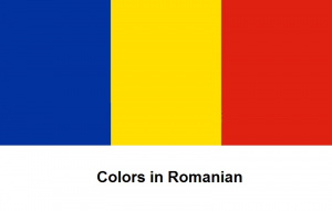 Colors in Romanian