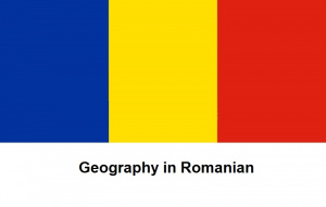 Geography in Romanian