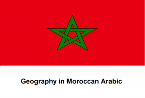 Geography in Moroccan Arabic