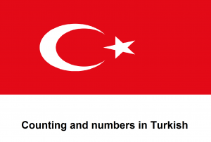 Counting and numbers in Turkish