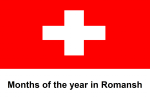 Months of the year in Romansh